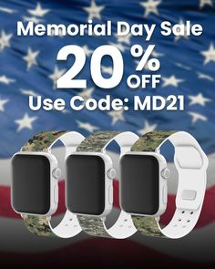 Get 20% off all watch bands and accessories! Check out our expanded line of officially licensed US Military bands. Military Shop, Sports Organization, Leather Watch Bands, Stainless Steel Watch, Watch Brands, Cool Watches, Memorial Day, Smart Watch, Army