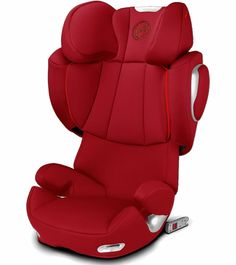 Cybex Solution Q2-Fix Booster Car Seat - Hot & Spicy