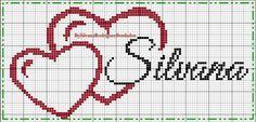 Wedding Cross Stitch Patterns, Cross Stitch Heart, Magnets, Embroidery, Boy Names, Cross Stitch Love, Cross Stitch Letters, Monogram Alphabet, Cross Stitch Alphabet
