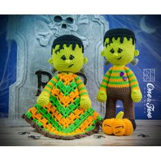 Frankie Lovey and Amigurumi Crochet Patterns Pack by One and Two Company