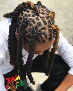 Black Hair & The History Of Self-Hatred Black Hair Dreadlocks Mens Dreadlock Styles, Dreads Styles, Curly Hair Styles, Natural Hair Styles, Dreadlock Hairstyles For Men, Black Men Hairstyles, Braided Hairstyles, Wedding Hairstyles, How To Retwist Dreads