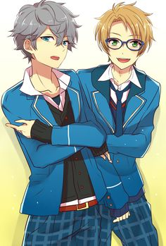 I have finally found a new boys to be biased | Ensemble Stars