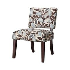$118.99, Target  Vale Open Back Slipper Accent Chair-Leaves