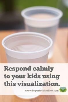 The sibling rivalry, the fighting, the complaining. Sometimes, it's just too much. You'd like to respond calmly to your kids, but it's hard to remember in the moment. Use this visualization to help you choose your response when things get heated!