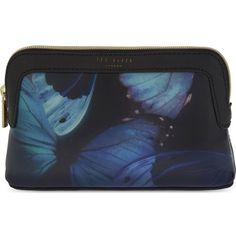 TED BAKER Ceeloe cosmetic case (€19) ❤ liked on Polyvore featuring beauty products, beauty accessories, bags & cases, cosmetic purse, toiletry bag, cosmetic bags, makeup purse and travel toiletry case