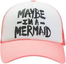 mermaid at heart hat - i want