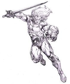Thundercats Lion-O, in danny cruz's Comic Art Gallery Room Comic Book Characters, Comic Books Art, Comic Art, Fantasy Character Design, Character Art, He Man Thundercats, Thundercats Cartoon, Coloring Books, Coloring Pages