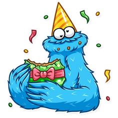 Rick And Morty Stickers, Telegram Stickers, Emoji, Smurfs, Cartoon, Cookie Monster, Cool Stuff, Drawings, Cute