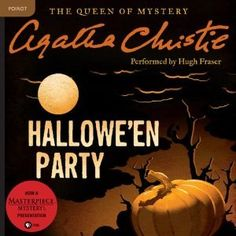 Fall 2016 A book with an orange cover - Hallowe'en Party (Hercule Poirot, #36)