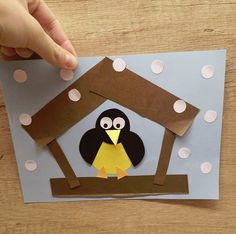 Winter Crafts For Kids 2020 Preschool Arts And Crafts, Kindergarten Crafts, Christmas Crafts For Kids To Make, Diy For Kids, Winter Activities For Kids, Winter Art Projects, Winter Kids, Winter Theme, Drawing For Kids