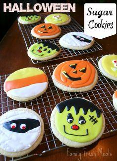 Super soft Halloween Sugar Cookies Recipe
