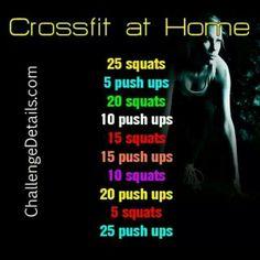 Crossfit at home!