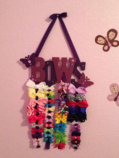 diy hairbows | Hair bow holder | Diy hairbows