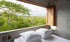 Located just ashort walk from the sea, Casa Tiny can be found nestled in an area of dense vegetation near the surf town of Puerto Escondido, on Mexico's idyllic Oaxacan coast. One of the first built offerings from young architect Aranza de Ariño, the ...