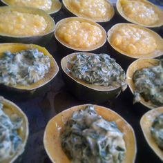 Creamed Spinach in Gemsquash