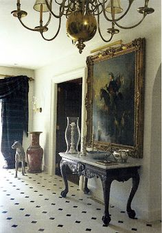 .I loveee that beautiful entry table!