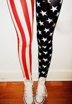 fc6a58b9eddf God bless America American Flag Leggings