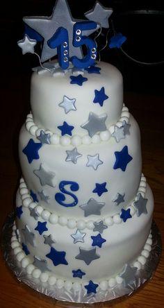 "15th Birthday ""Cowboy's"" Cake"