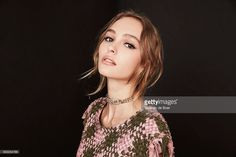 Actress Lily-Rose Depp from the film 'Planetarium' poses for a portrait during the 2016 Toronto International Film Festival at the Intercontinental Hotel on September 10, 2016 in Toronto, Canada.