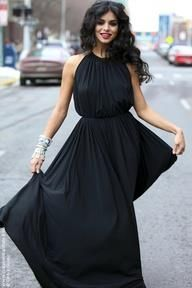 EVENING BLACK DRESSES FOR YOUR SPECIAL DATE