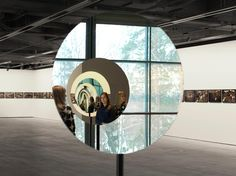 Pentagonal mirror tunnel • Artwork • Studio Olafur Eliasson