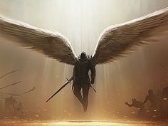 legendary being from mythology/religion? CHRISTIAN warrior angel / Leader of heavens army You are Michael the Head of the Archangels and commander of  God's Divine army, You are responsible for casting the most Evil out of Paradise. You follow God's command with fierce loyalty and have no room for second guessing.  Alignment : Good/Holy Weapon : Sword of Michael Archenemy : Lucifer
