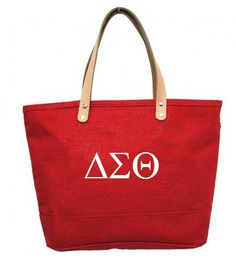 Delta Sigma Theta Jute Bag www.greek4life.com - Call or Email to order at 1-800-604-2744 or G4Lcustomproduct@aol.com Sorority Names, Sorority Life, Housewarming Party Games, Delta Girl, Delta Sigma Theta, Diamond Life, Jute Bags, Greek Life, Pearl White