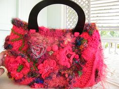 Ravelry: mbcrochets 1st Freeform Crochet Bag