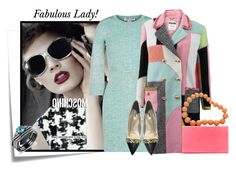"""nereid"" by elenb ❤ liked on Polyvore featuring мода, Post-It, Moschino, STELLA McCARTNEY, Charlotte Olympia, fab, jewelry, women и nereid"