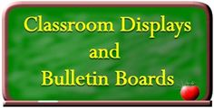 Bulletin boards and classroom displays make a classroom more inviting. Here you will find ideas for bulletin boards, door designs, and posters in pdf format to enhance your classroom.