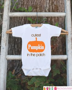 Happy Halloween Pumpkin One-Piece Suit Short Sleeve Home Outfit for Baby Boys Girls