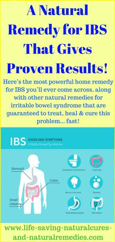 Here's the most powerful home remedy for IBS pain you'll come across, along with other natural remedies for irritable bowel syndrome that are guaranteed to treat & heal this problem. Home Remedies For Warts, Cold Home Remedies, Natural Health Remedies, Herbal Remedies, Natural Cures For Ibs, Headache Remedies, Ibs C, Exercises, Natural Remedies