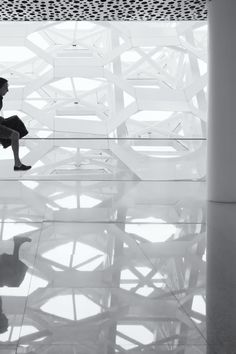 Free stock photo of black-and-white, man, hurry, reflections