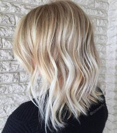 Mid-Length Haircut With Textured Ends
