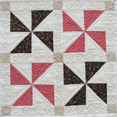 love the quilting.    from...Such a Sew and Sew
