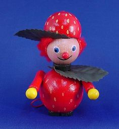 Steinbach Strawberry Girl Ornament