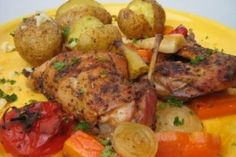 Nyúlsült zöldségekkel Tandoori Chicken, Turkey, Favorite Recipes, Meat, Ethnic Recipes, Food, Gourmet, Meal, Turkey Country