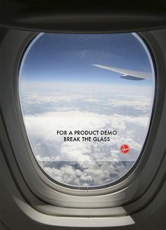 Hoover - For a product demo, break the glass #Advertising