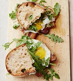 Huck's Fried Egg Sandwich. Huckleberry Cookbook