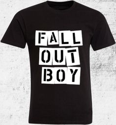 Fall Out BoyShirt by KliwonTshirt on Etsy, $16.00