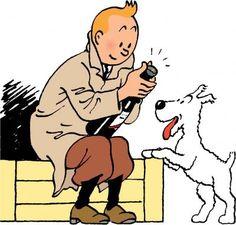 Tintín y Milú - (Hergé)
