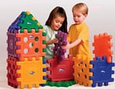 Care Play Mixed Grid Blocks 32 Piece Set $139.99