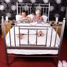 Contemporary bondage bed, for ideas.