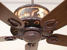What A Lovely Western Ceiling Fan