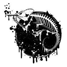 Lizard Skeleton