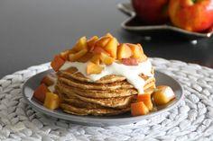 Melis bunte Studentenküche: Kürbis-Pfannkuchen