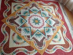 Glacier Star, Quiltworx.com, Made by Annelize Littlefair.