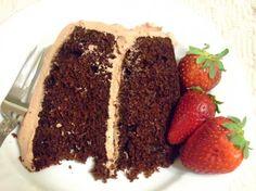 Low Fat, Low Cholesterol Chocolate Cake/Cupcakes. Photo by HokiesMom