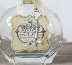 repurpose bottles | repurposed vintage bottle | Bottles