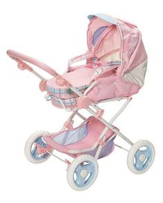 Zapf Creation 762400 Baby Annabell Pram  http://www.comparestoreprices.co.uk/dolls/zapf-creation-762400-baby-annabell-pram.asp #babyannabell #babyanabell #babyannabel #babyannabellpram